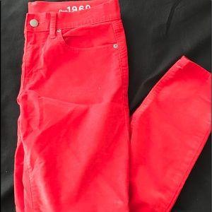 Gap 1696 Legging Jeans Cords Size 6R